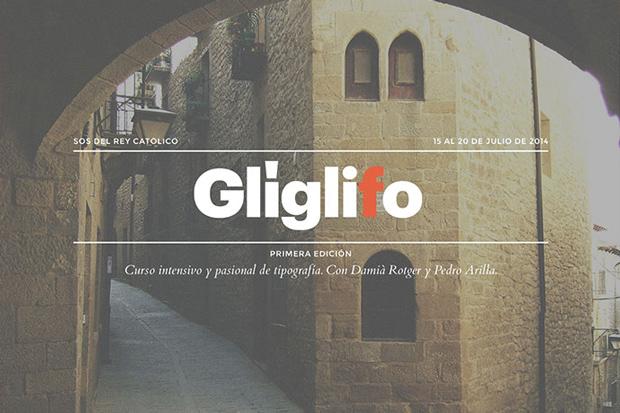 Glíglifo – curso de tipografía dirigido por Damià Rotger y Pedro Arilla