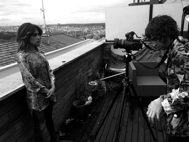 Moruba – Matsu y Amén – sesión fotográfica del making of