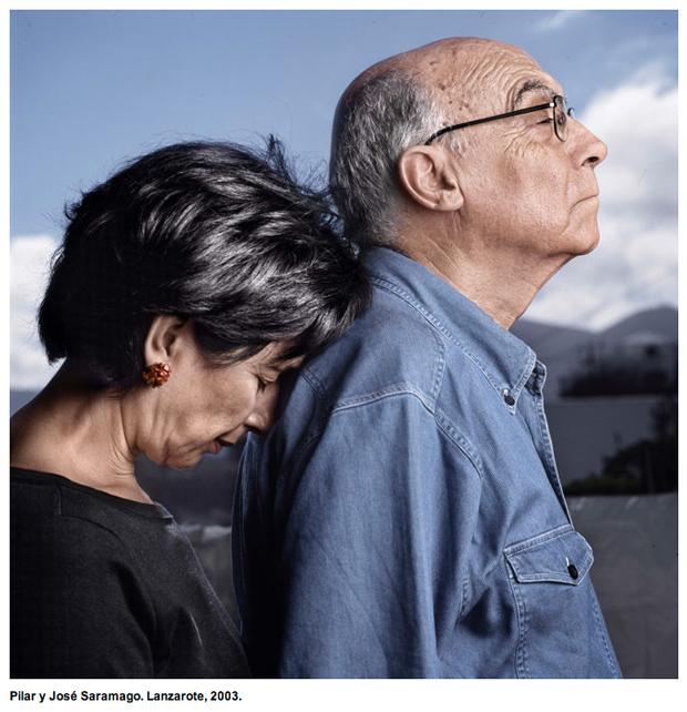 retrato fotográfico Saramago – ChemaConesa