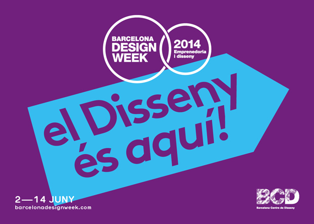 Barcelona Design Week – BCD 2014 flyer – Toormix restyling de la marca