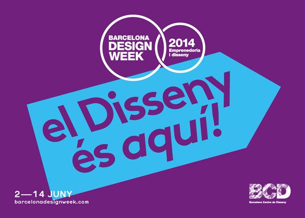 Barcelona Design Week –BCD 2014 flyer – Toormix restyling de la marca