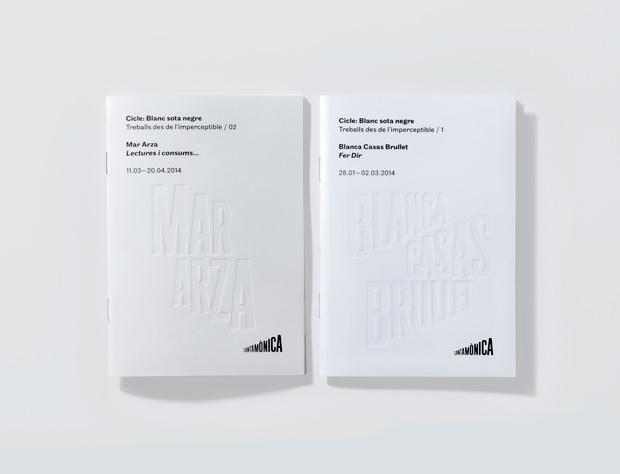 Arts Santa Mònica – identidad visual diseño de Mario Eskenazi