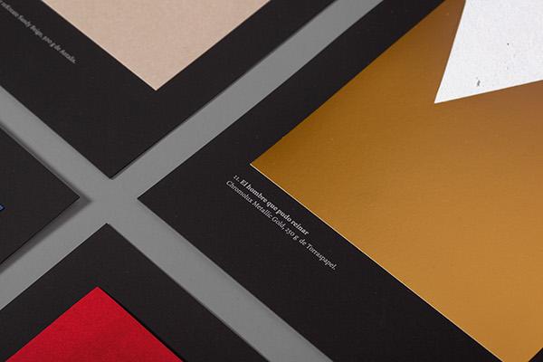 Atipo – detalle – Papeles de cine – campaña Minke galería de papeles