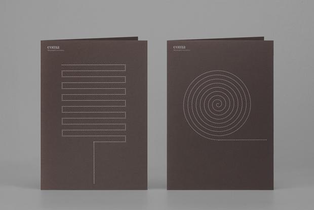 Coma, branding diseño de Mucho