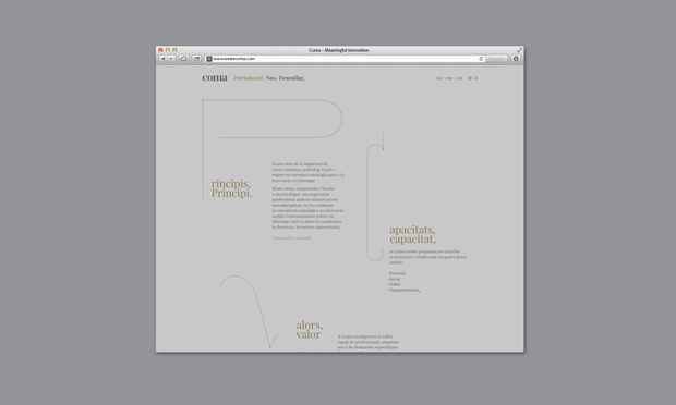 Coma-branding diseño de Mucho