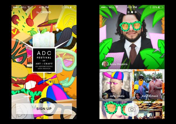 ADC Festival 2014 – app diseño de Crowd Studio