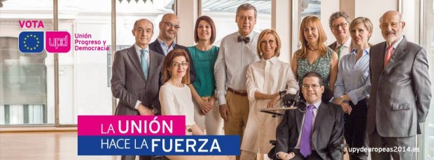 Cartel elecciones europeas de UPyD