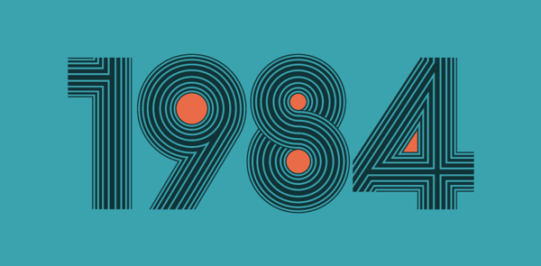 tipografía retro setentera de Alexander Wright