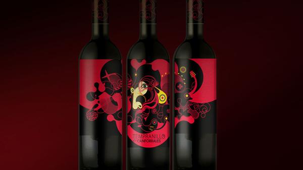 Diseño de etiquetas para vino