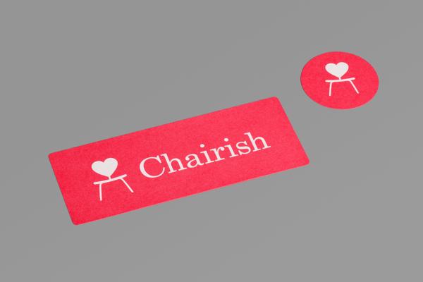 Diseño de identidad para Chairish