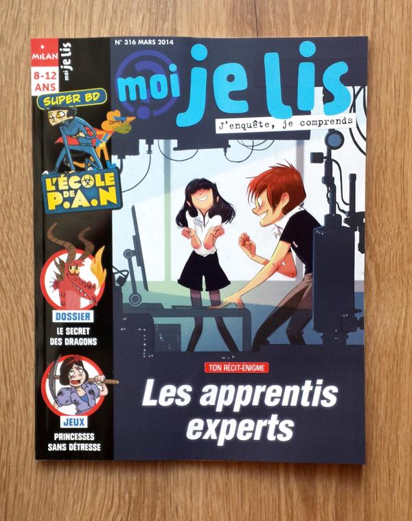 Revista juvenil para la que Oriol Vidal ha trabajado