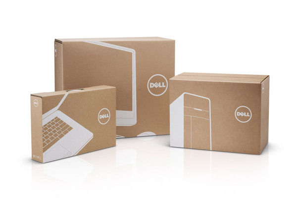 Diseño de packging para Dell