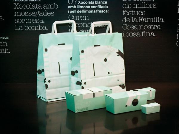 Diseño de packaging para Demasie