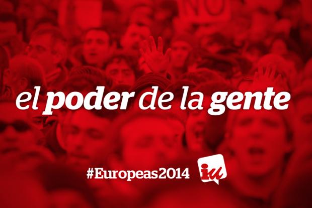 Izquierda Unidad, elecciones europeas 2014
