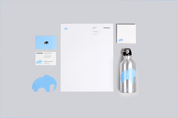 Diseño de identidad y aplicaciones para Elepago