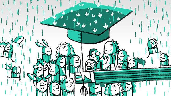 Fragmento de la animación para European Union ESF program