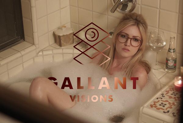 Diseño de identidad para Gallant Visions