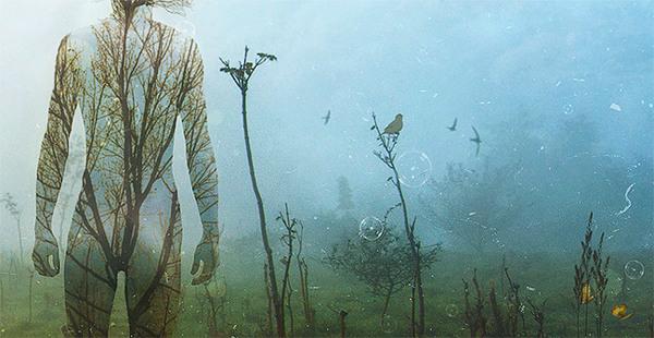 Ilustración de Mario Sánchez Nevado titulada Internal Landscapes