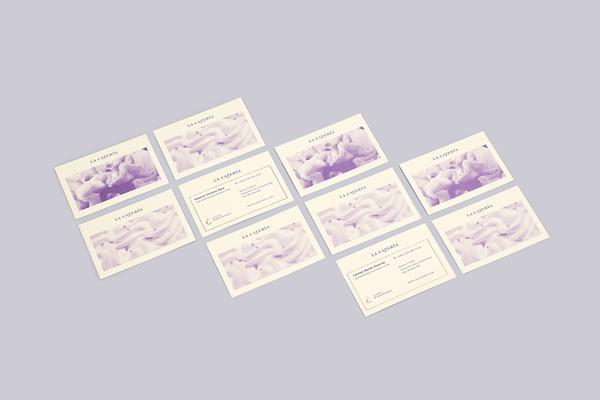 Diseño de identidad y aplicaciones para La Catería