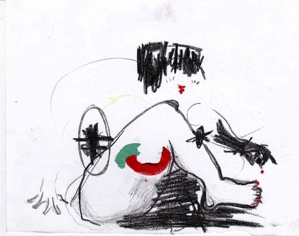 Ilustracíón de la serie Paper Works