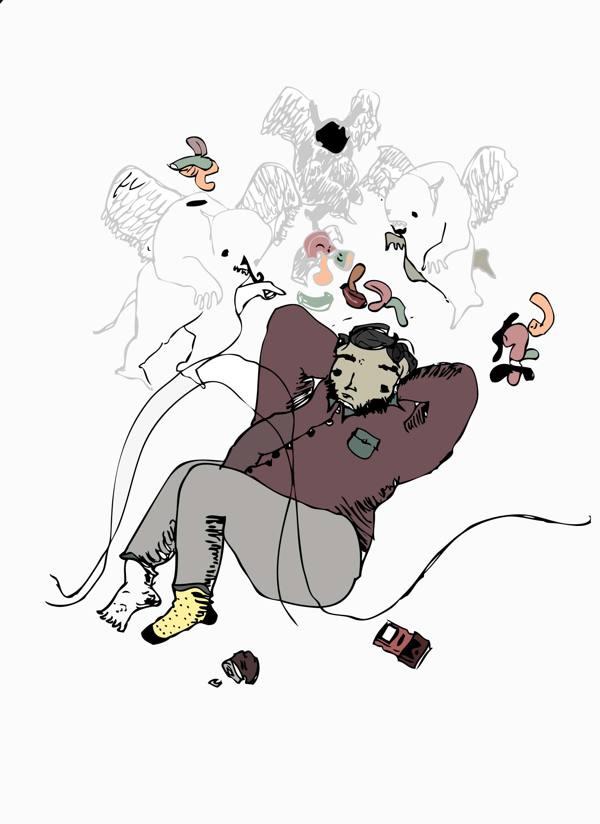 Ilustración de la serie STREET illustration