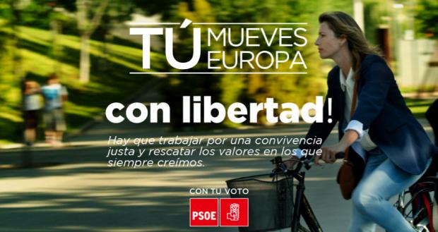 Carteles complementarios del PSOE elecciones europeas 2014