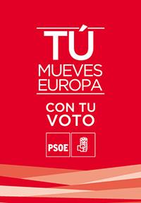 Cartel elecciones europeas PSOE