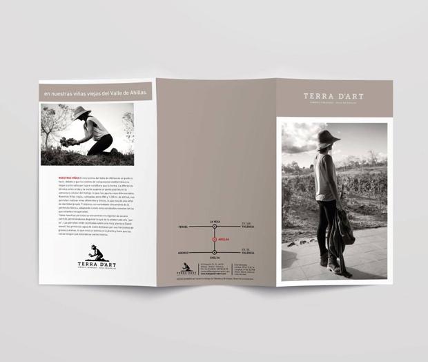 Diseño de tríptico para Terra d'Art