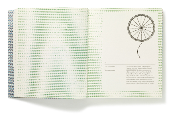 Diseño editorial de Typewriter Art
