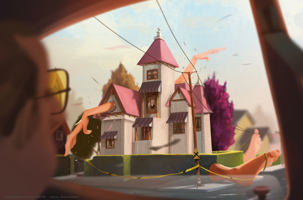 Ilustración de la serie Visual Development-Home