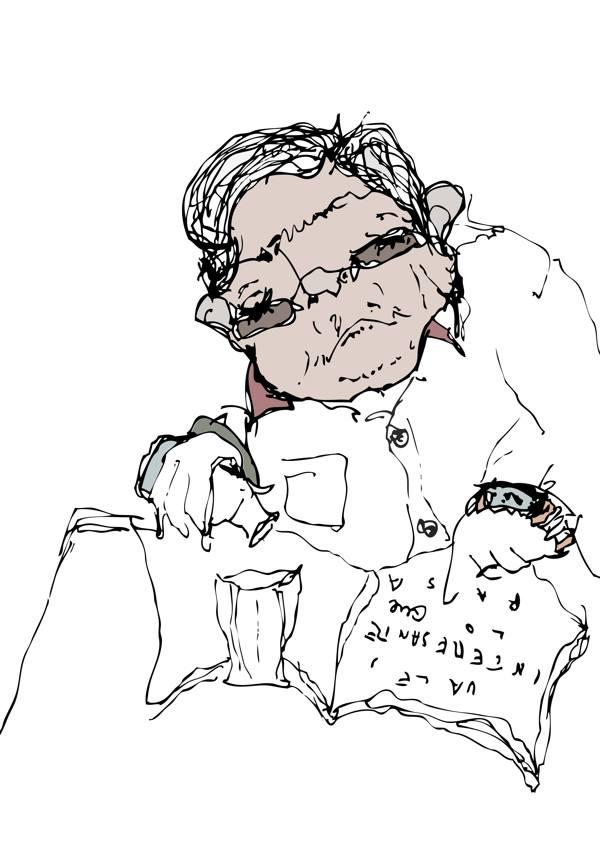 Ilustración de la serie Ale Apai