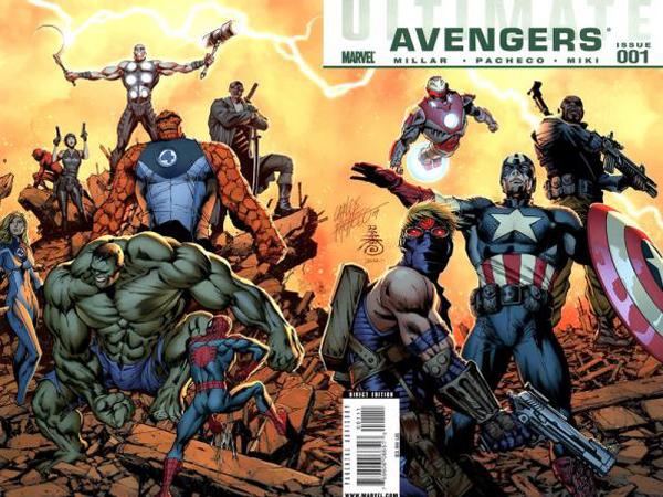 Cubierta de Ultimate Avengers