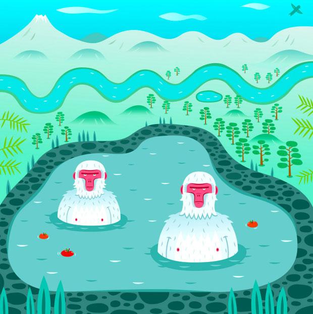 Alex Mathers: «Soy un ilustrador nómada»