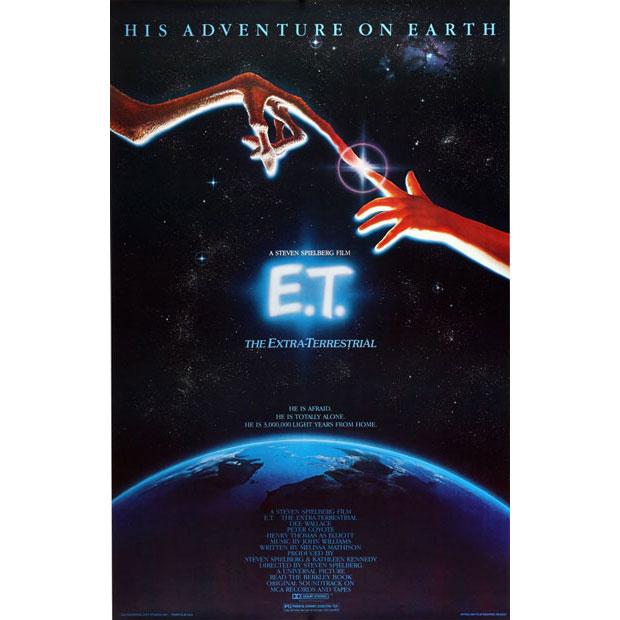 Anthony Goldschmidt diseñador del cartel de E.T. el extraterrestre