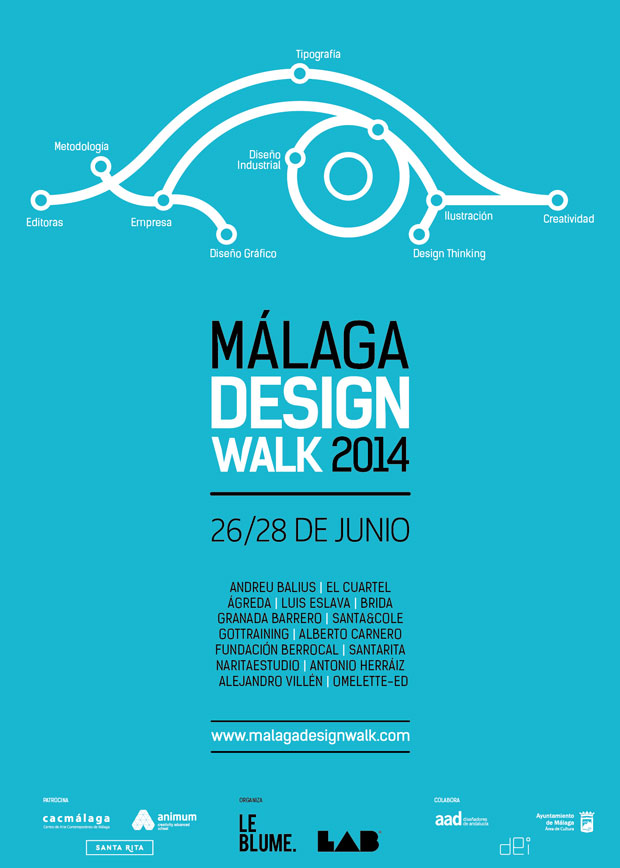 Málaga Design Walk, jornadas de diseño y comunicación visual