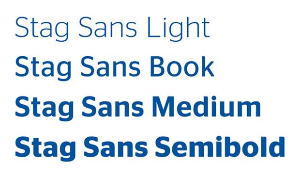 Christian Schwartz – Stag typeface