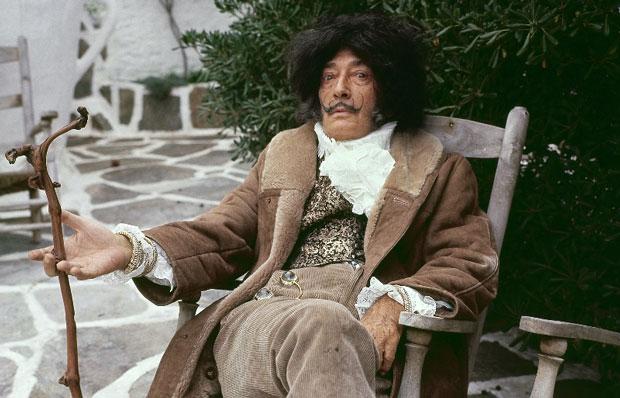 Dalí – foto retrato de Toni Vidal
