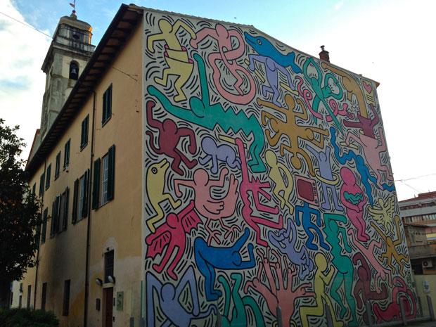 Keith Haring – mural Tuttomondo Pisa