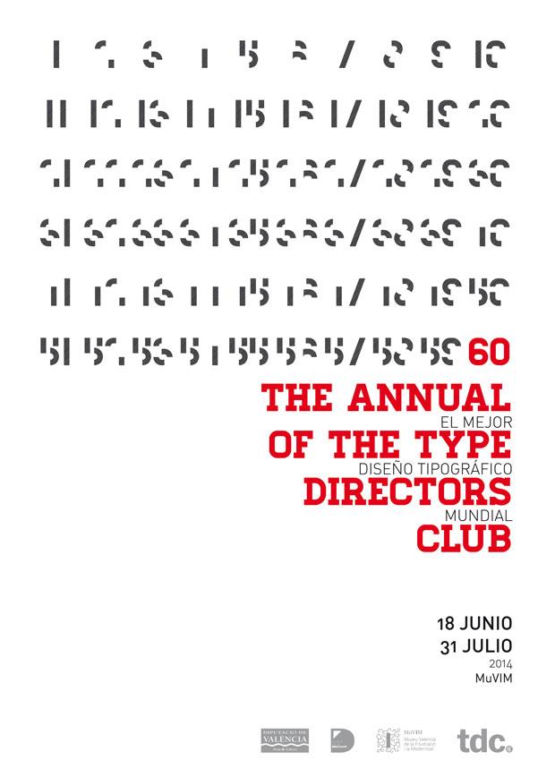 tipografía – MuVIM  – 60 TDC