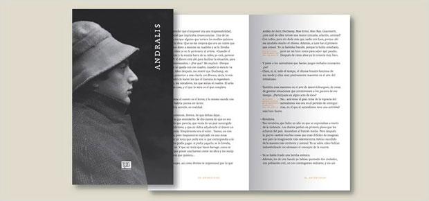 Rubén Fontana – tipografía Andralis