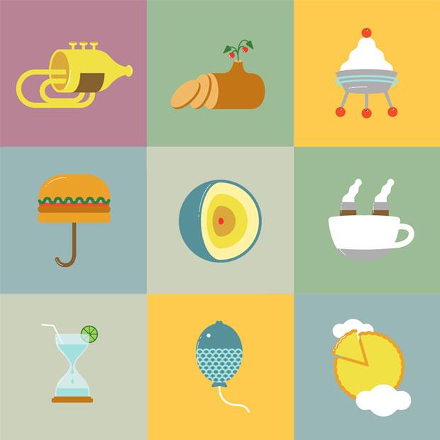 Saboc restaurante – ilustraciones wallpaper