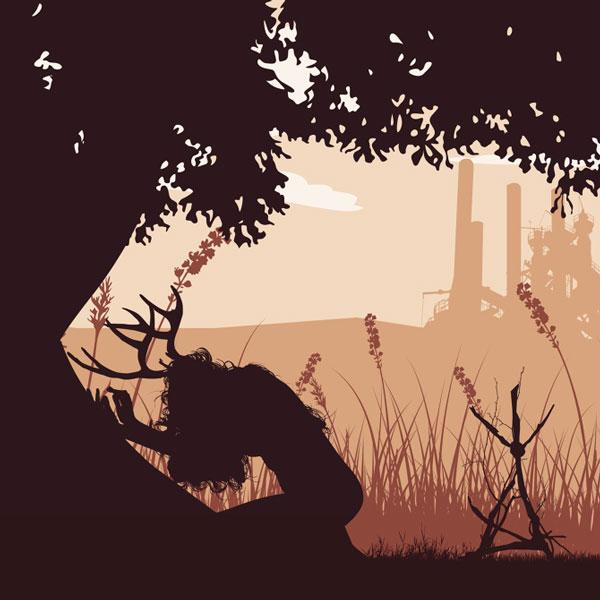 ilustración True Detective – Javier Vera