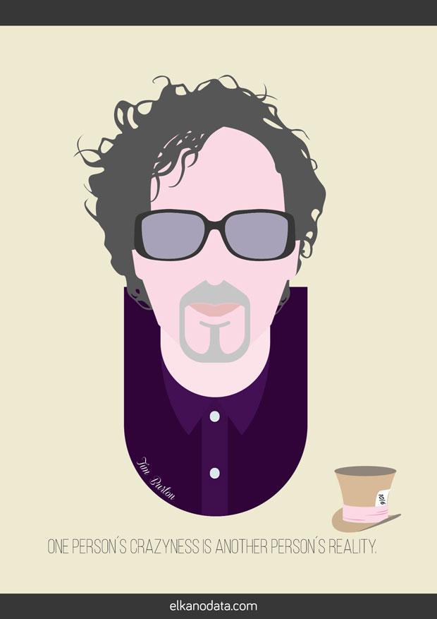 Tim Burton – 8 frases célebres de directores de cine de culto