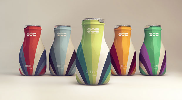 Goa Yogurt – diseño de packaging