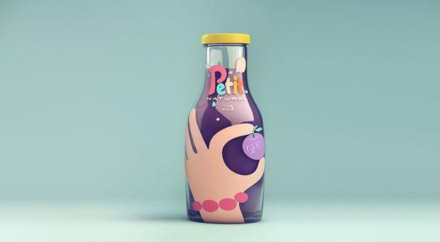 Petit Natural Juice – SweetyBrandingStudio – Isabela Rodrigues
