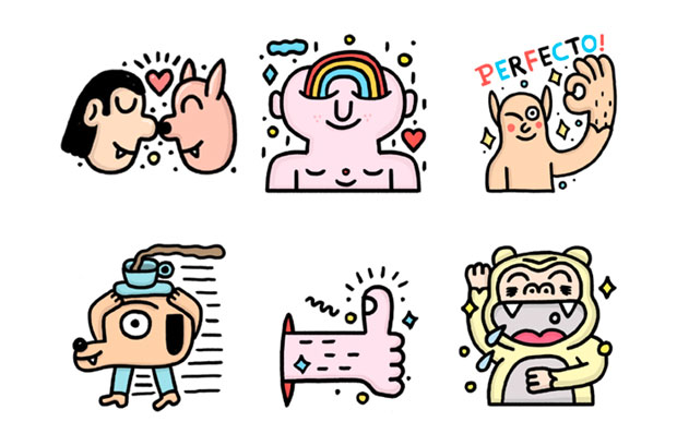 stickersLINE – Pablo Delcielo
