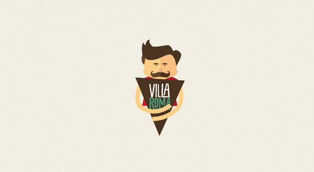 Villa Roma – identidad de Sweety Branding Studio – Isabela Rodrigues
