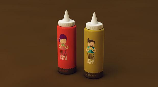 Villa Roma – branding y packaging Sweety Branding Studio – Isabela Rodrigues