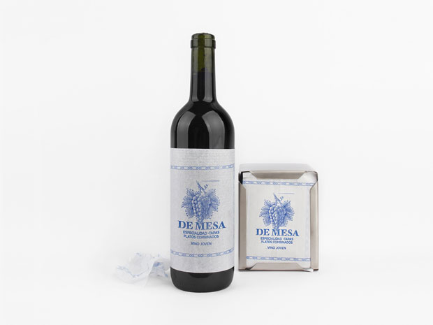 Vino de Mesa – packaging de Grantipo