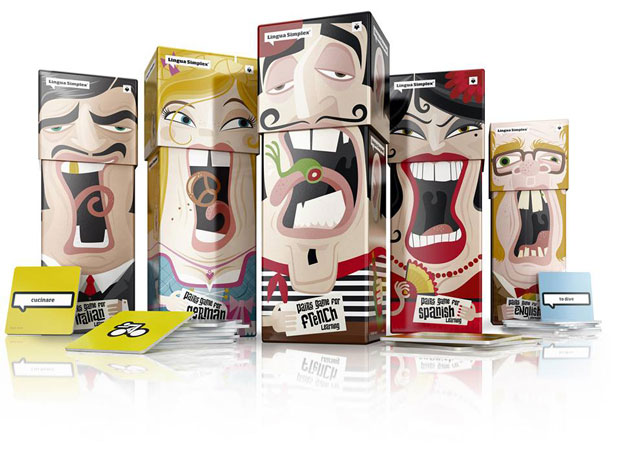 Lingua Simplex – packaging Amelung Design